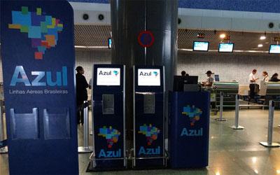 Como fazer check-in para voos da Azul