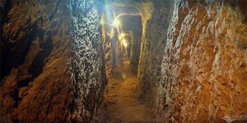 Minas de ouro em Ouro Preto