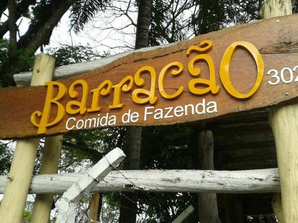 Restaurante Barracão em Foz do Iguaçu